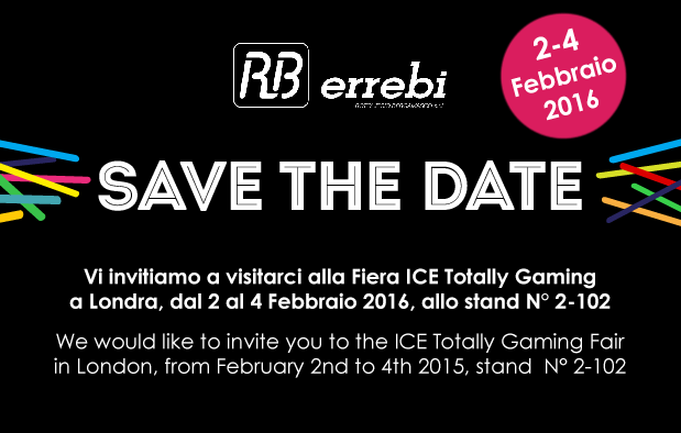 Errebi all'ICE Totally Gaming di Londra 2016