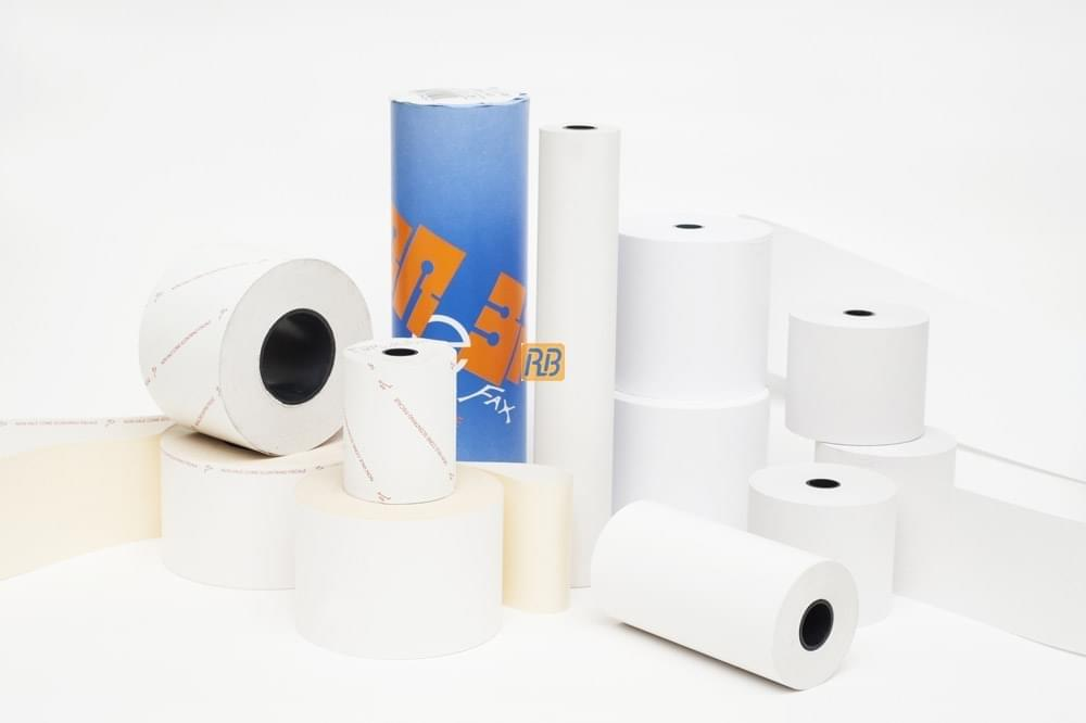Rolls of Paper for Office Use